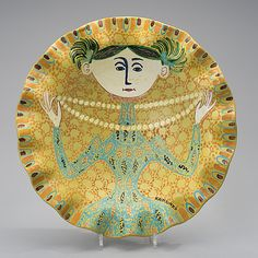View A CERAMIC DISH. The girl with the pearl necklace by Birger Kaipiainen on artnet. Browse upcoming and past auction lots by Birger Kaipiainen. Mid Century Art, Mid Century Design, Nordic Design, Scandinavian Design, Paper Drawing, Googie, Ceramic Artists, Danish Modern, Metallica