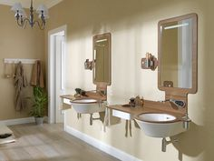 Noken showcases Wood: the most natural finish for the Mood collection #WoodLovers #design #bathroom #innovation