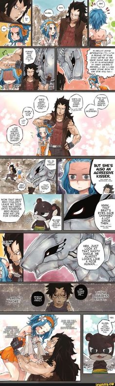 Metallicana and gajevy Fairy Tail, Gajevy by sketchy ❤ flavor Fairy Tail Levy, Fairy Tail Ships, Anime Fairy, Gajeel Et Levy, Image Fairy Tail, Fairy Tail Comics, Fairy Tail Couples Comics, Gajevy, Fairy Tail Guild