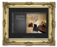 Nice brochure website for Matthew Collins Furniture www.mcfltd.com