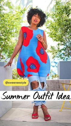 Casual Trendy Outfits, Stylish Outfits, Summer Outfits, Black Girl Fashion, Diva Fashion, Sweet Fashion, African Attire, African Fashion Dresses, Summer Fashion Trends