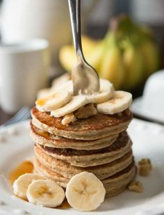 20 Protein Pancake Recipes That Can Fit Anyone's Macros   Who said pancakes can only be white-flour flapjacks drowned in butter and syrup? These 20 protein pancake recipes are a delicious alternative! (Low Carb Waffles Protein)
