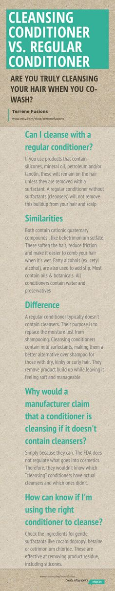 Cleansing Conditioners vs. Regular Conditioners: Is there a difference? Click for the perfect Cleansing Conditioner