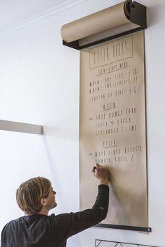 Papierabroller für die Wand... via Designchen