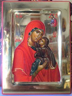 Byzantine Icons, Religious Icons, Orthodox Icons, Sacred Art, Mother Mary, Virgin Mary, Religion, Princess Zelda, God