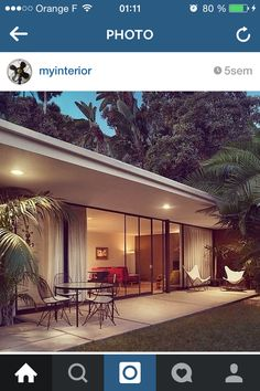 Chateau Marmont, Bungalow, Outdoor Decor, Instagram Posts, Home Decor, Gardens, Outdoor Seating, Decoration Home, Room Decor