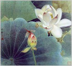 Selección acuarelas de flores -II