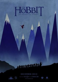 The Hobbit: An Unexpected Journey | 24 Unofficial Movie Posters That Are Better Than The Real Posters