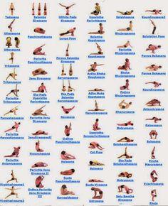 Hatha Yoga Poses 486x598
