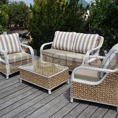 Outdoor Sofa, Outdoor Furniture Sets, Outdoor Decor, Ottoman, Luxury, Home Decor, Decoration Home, Room Decor, Home Interior Design
