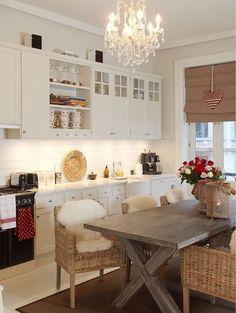 Освещение кухни и столовой