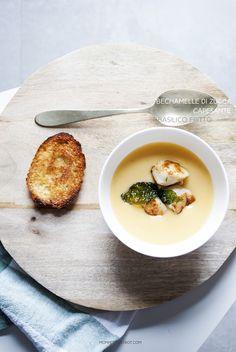 La prima ricetta autunnale (con echi di basilico estivo) realizzata con il Cooking chef ..  Rapida, semplice e dal gusto avvolgente e cre...