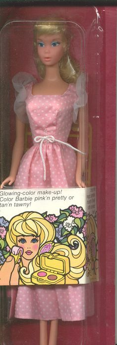 Sweet 16 Barbie - My all time favorite. She came with make-up, a brush and a Howards Johnson's gift certificate to go eat on your birthday. - Still have her and the pink dress.
