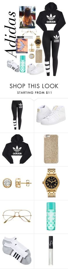 """Cole word"" by curlss-wavyy-sexy on Polyvore featuring adidas Originals, adidas, Michael Kors, Nixon and NARS Cosmetics"