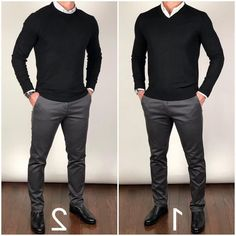 Style men things to wear mens fashion sweaters, mens fash Mens Fashion Sweaters, Mens Fashion Suits, Sweater Fashion, Mode Man, Formal Men Outfit, Business Casual Men, Business Casual Sweater, Casual Sweaters, Office Casual Men