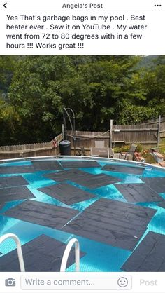 16 Genius Pool Hacks That Will MAKE Your SummerTry some of these great pool hacks this Swimming Pool Hacks for SummerEasy DIY summer pool hacks! Simple Tricks and Tips for Backyard Pool Parties and Above Ground Pool Decks, In Ground Pools, Above Ground Pool Landscaping, Above Ground Swimming Pools, Above Ground Pool Heater, Diy In Ground Pool, Rectangle Above Ground Pool, Intex Easy Pool, Semi Inground Pool Deck
