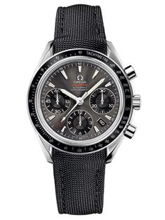 Best Men's Watches 2011 - New Inexpensive Watches for Spring - Esquire : Omega Steel Speedmaster Date
