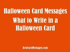Halloween messages jokes and poems to write in a card halloween what to write in a halloween card halloween card wishes quotes and poems halloween card wishes m4hsunfo