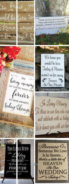 Remember and honor your departed loved ones with these unique wedding memorial ideas filled with love, style and grace.