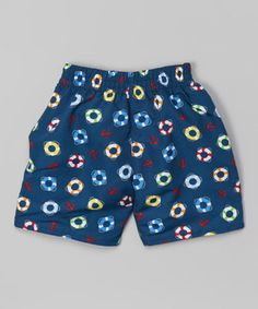 Loving this i play Navy Lifesaver Ultimate Trunks - Infant & Toddler on #zulily! #zulilyfinds