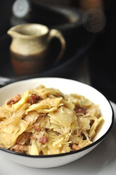 Kielbasa, Tortellini, Christmas Cooking, Kitchen Recipes, Macaroni And Cheese, Cabbage, Food And Drink, Menu, Snacks