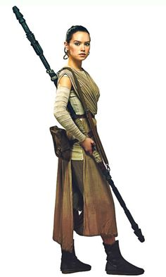New promo image of Rey from Star Wars: The Force Awakens