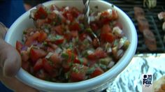 Pico de Gallo  1 Roma tomato, diced 1/4 red onion, diced 2 tablespoon minced cilantro leaves 1/6 of Jalapeno, seeds removed, minced (or to taste) Zest and juice of ½ lime Salt