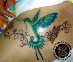 tattoo colibri