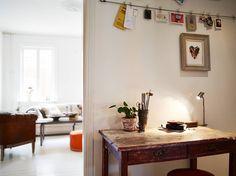 Un piso para cuatro, con muebles recuperados y maravillosas piezas vintages.