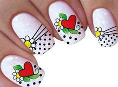 Lindos modelos par arrazar no look das nails Mani Pedi, Pedicure, Animal Nail Art, New Nail Designs, Latest Nail Art, Foil Nails, Birthday Nails, Fabulous Nails, Nail Colors