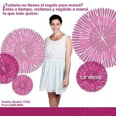 El mejor regalo para mamá. #Lineas #outfit #moda #tendencias #2014 #ropa #prendas #estilo #primavera #vestido