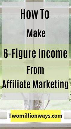 Today, I am going to share with you the top six-figure money making ideas that can make you financially stronger. I find affiliate marketing to be the most successful platform for the one who wants to make money online. Make Real Money, Earn More Money, Earn Money From Home, Make Money Blogging, Way To Make Money, Make Money Online, Earning Money, Money Fast, Money Tips
