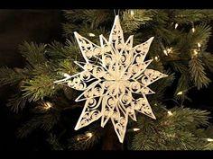 Basteln mit Papier: Paper Ball basteln aus Papier-Ornamenten... - YouTube