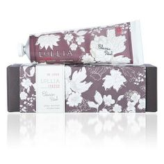 Lollia In Love Shea Butter Handcreme (4 oz) by Lollia. $25.99. Lollia In Love (Classic Petals) No. 9 Hand Cream.  Fragrance Description: Classic petals...delicate infusions of Apple Blossom kissed sweetly by Jasmine, floating upon the breath of truest Living Rose.   Key Ingredients:  Lollia's Shea Butter Handcreme formula is often cited as a cult classic! Botanically lush handcreme with rich ingredients.   Macadamia Nut & Avocado oils are blended to comfort & soothe skin. Bene...