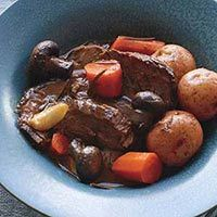 Italian pot roast with potatoes