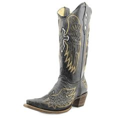 Corral Women's Wing And Cross Fashion Boots *** Find out more details by clicking the image : Women's cowboy boots