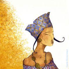 """Photo from album """"Gaelle Boissonnard"""" on Yandex. Art And Illustration, Atelier D Art, Creation Art, Art Sculpture, Art Moderne, Whimsical Art, Types Of Art, Beautiful Paintings, Face Art"""