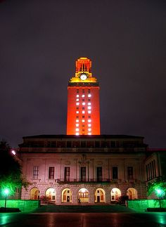 The UT Tower - Austin, Texas