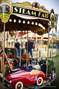 Steam Fair, vintage carousel