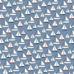 Designs by Dani - By The Sea - Sea Boat in Blue