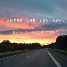 Ya...where r u?