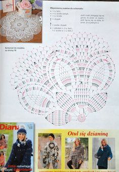 Kira scheme crochet: Scheme crochet no. Filet Crochet, Crochet Doily Diagram, Crochet Doily Patterns, Crochet Mandala, Crochet Chart, Thread Crochet, Irish Crochet, Crochet Motif, Crochet Doilies
