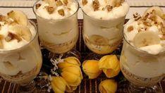 Babcia wymyśliła cudownie prosty deser z mascarpone i bananami. Robi się niemal sam, niewyobrażalnie apetyczny | smakosze.pl Cheesecake, Menu, Pudding, Make It Yourself, Sweet, Desserts, Recipes, Food, Youtube