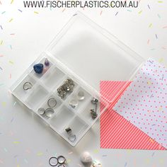 Have you considered using our Fischer Plastics Clear Storage Boxes for holding smaller items such as jewellery? Our Clear Storage Boxes can help you to keep smaller pieces sorted and seperate so they are always easy to find and use.