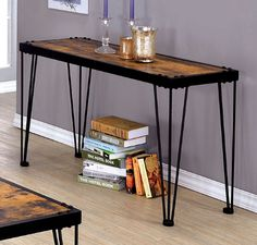 Furniture of America Dido Collection Sofa Table CM4118S