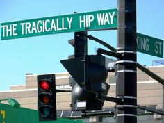 A portion of Barrack Street was recently renamed after Canada's biggest rock band (who are from Kingston), the Tragically Hip. Sound Of Music, Kinds Of Music, My Music, Canadian Things, I Am Canadian, Jimi Hendricks, Prime Directive, Rock Legends, Indie Music
