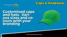 #Caps & #Headwear - Chameleon Print Group - #Australia  http://chameleonprint.com.au/product-category/caps-headwear/