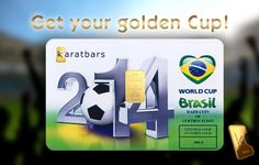 For the 2014 World Cup in Brazil, Karatbars International offered a Special Edition Card. We wished all of the participating teams the best of luck and the best won! Collect yours before they're all gone.