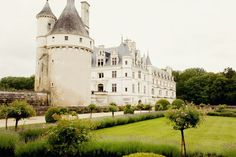 Châteaux de la loire in Central France