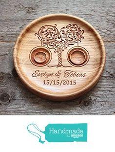 Ringkissen aus Eiche mit gravierten Namen und Datum, Ringschale ür die Hochzeit, Ringträger für die Hochzeit Baum der Liebe von der LVWoo https://www.amazon.de/dp/B01N1F5IR4/ref=hnd_sw_r_pi_dp_Kz9vybZRDGZ38 #handmadeatamazon